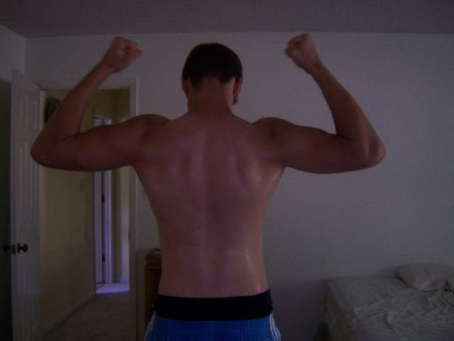 My back, don't really have anything on here.
