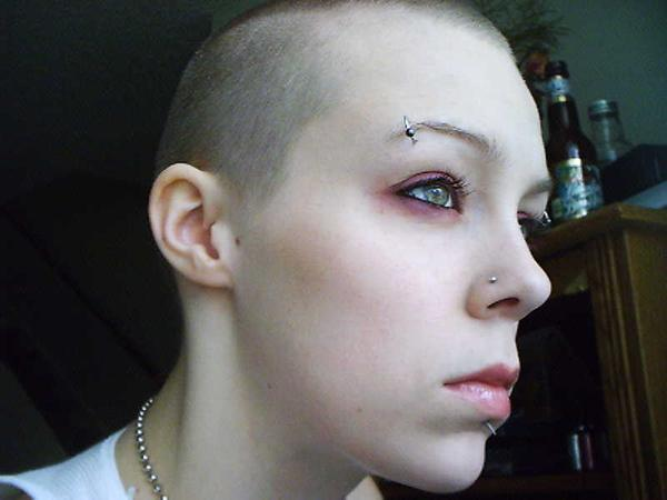 Me in, like 2004, when I shaved my head.