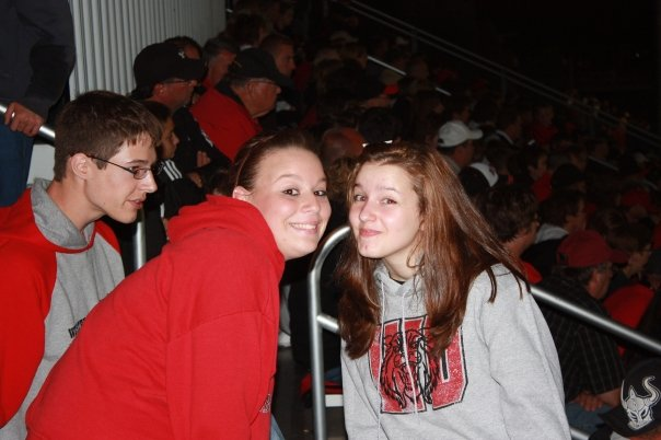 Sophmore Year Highschool Football Game